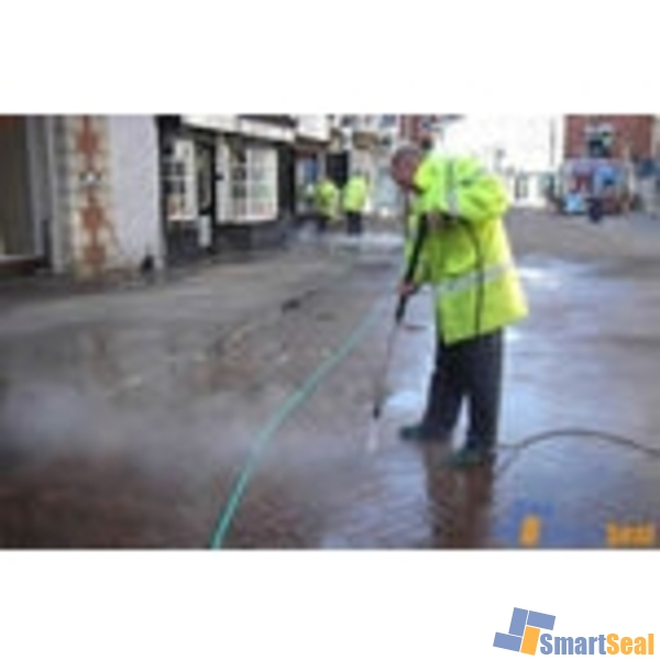 how to clean paving slabs without a pressure washer